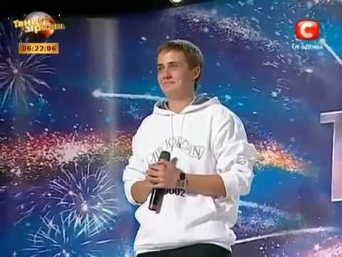 Young Eminem on Ukranian Talent Show