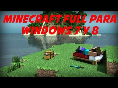 DESCARGAR E INSTALAR MINECRAFT PARA WINDOWS 7 Y 8.1 [SIN JAVA]