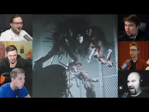"""Реакции Летсплейщиков"" на Трехликого Монстра из The Evil Within 2"