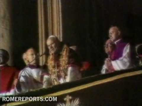 john paul image pope benedict smoke