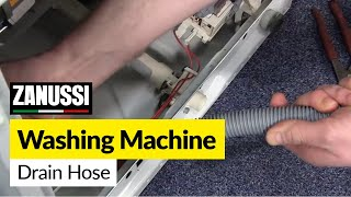 How to Change the Drain Hose on a Washing Machine (Zanussi)