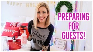 CLEAN WITH ME 2018 💪🏼✨🎄| PREPARING FOR HOUSE GUESTS! BEDROOM + BATHROOM CLEANING VIDEO! | Brianna K
