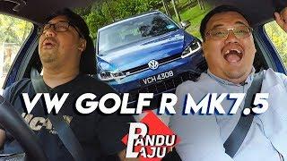 Volkswagen Golf R MK7.5, Serius Best Sampai Tak Ingat Dunia