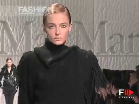 Max Mara F/W 2007 - youtube