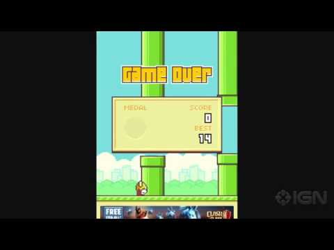 Flappy Bird Developer to Remove Game From App Stores