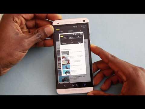 HTC Desire 620 - Создание снимков экрана телефона - m 12
