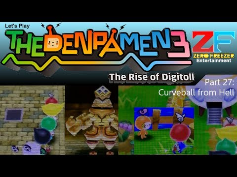 The Denpa Men 3 (3DS) Part 27: Curveball from Hell [HD]