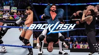 WWE 2K16 Backlash 2016 Prediction Highlights (Full Show)