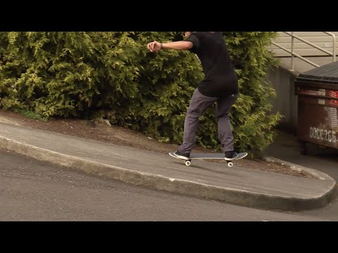 Nosemanual Nollie Bigflip UP a manual pad | Elliot Murphy