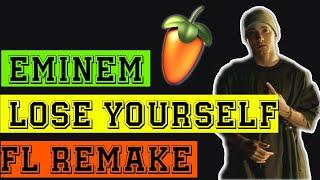 Eminem Lose Your Self Beat Remake With Fl 9 HQ(No Vocals)MP3 Download Link
