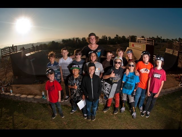 GRICE Productions Presents: LIL PROS BMX TOUR - Part 1 - Murray Compound & Casey's Dreamyard