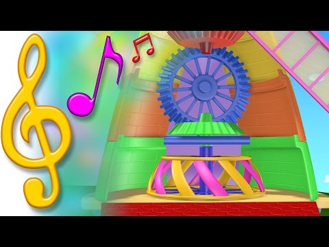TuTiTu Songs | Windmill Song | Songs for Children with Lyrics