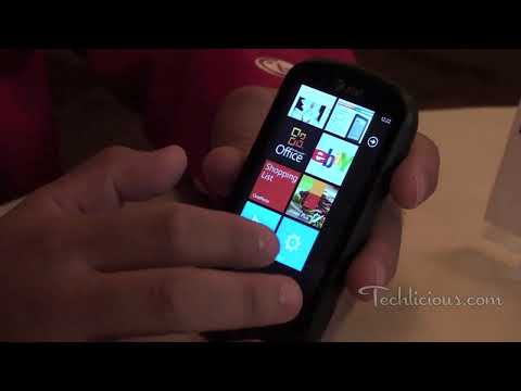 LG Quantum Windows Phone 7 Preview
