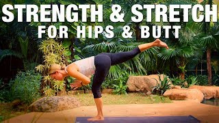 Strength & Stretch for Hips & Butt Yoga Class - Five Parks Yoga
