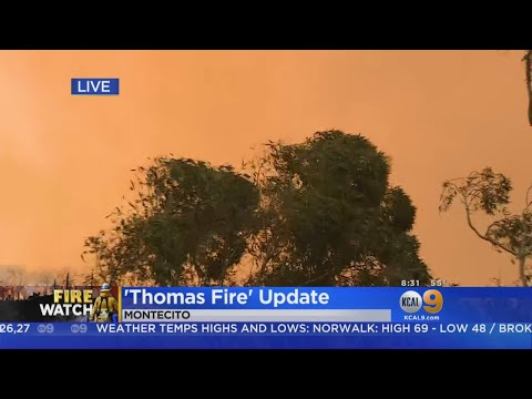 New Evacuations As Thomas Fire Spreads, No Relief In Sight