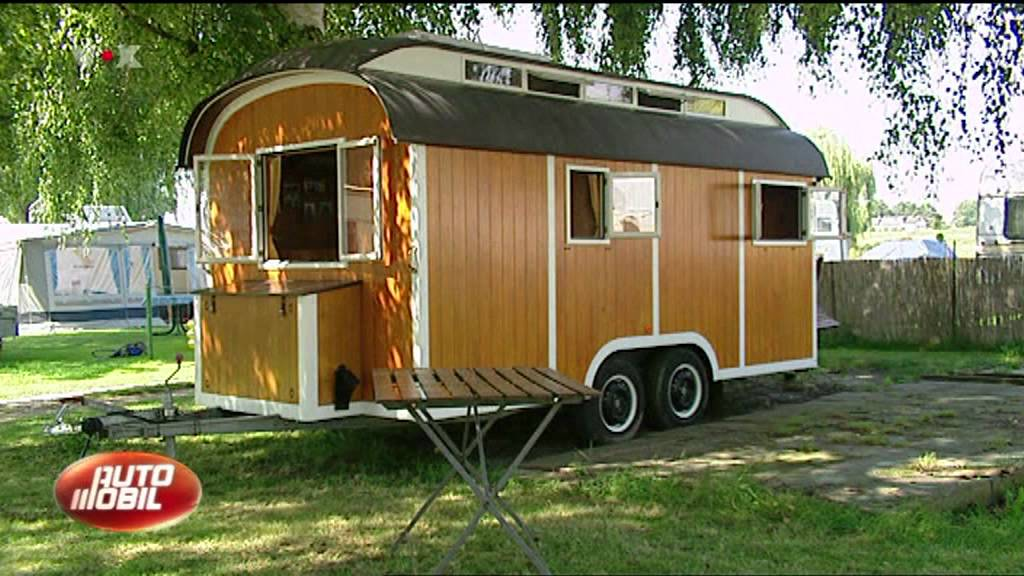 tv beitrag ber den holzcaravan und das holzwohnmobil youtube. Black Bedroom Furniture Sets. Home Design Ideas