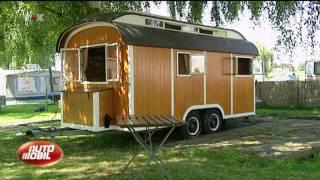 Josefine merkatz on tour mit fritzi einem bauwagen und - Bauwagen selber bauen ...