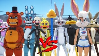LOONEY TUNES VS FIVE NIGHTS AT FREDDY