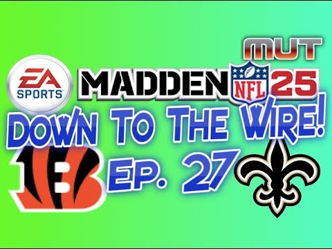 Madden 25 Ultimat Team - Online Seasons Ep. 27 - Down to the Wire!