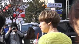 150320 은혁 EUNHYUK walking to KBS from a cafe
