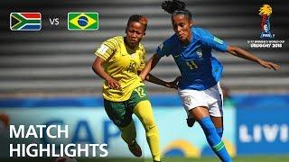 South Africa v Brazil  - FIFA U-17 Women's World Cup 2018™ - Group B