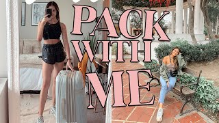 PACK WITH ME: what I packed, prepping for vacation vlog ft. proven skincare