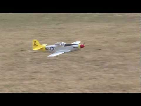 Mustang P51-D  100% Scale RC Airplane