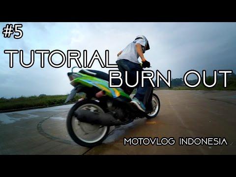 Tutorial Burn Out Motor Matic | Motovlog Indonesia
