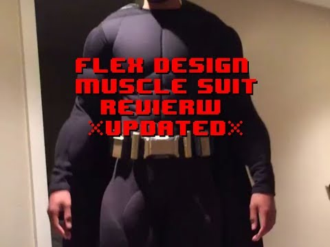 Flex Design Muscle suit Review *UPDATED*