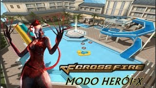 Gameplay Modo Herói-X CrossFire AL