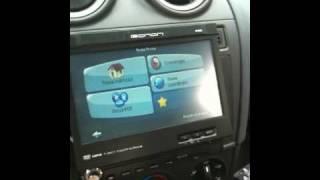 Ford Fiesta Mk6 - Eonon 1025 1 Din Dual Zone Car DVD + GPS + TV +