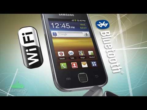 Smartphone Samsung S5367 Galaxy Y TV   Submarino.com.br
