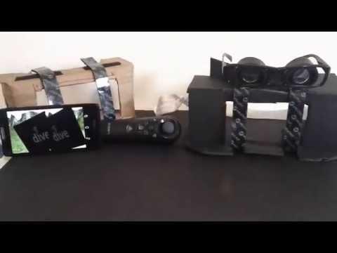 Foam Board Mobile Virtual Reality Headset
