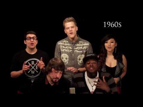 Evolution of Music - Pentatonix Music Videos