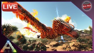 🔴THE PHOENIX IS TRAPPED AND READY TO BE TAMED!! 🔴| ARK SURVIVAL EVOLVED 💪 | LIVE STREAM
