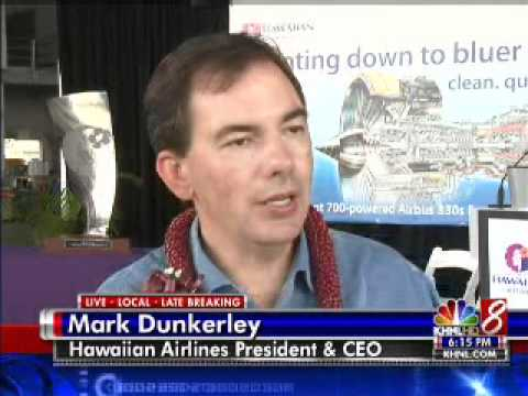 Hawaiian Airlines announces 'green' partnership with Rolls-Royce