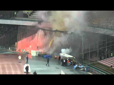 Napoli-Roma 3-0 12-02-2014 Ultras Roma