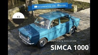 Simca 1000 (1/2)- Historia y evolución