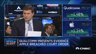 Qualcomm lawsuit won't affect Apple on a larger scale, says CFRA equity analyst