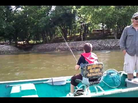 White River fishing at Bull Shoals Arkansas