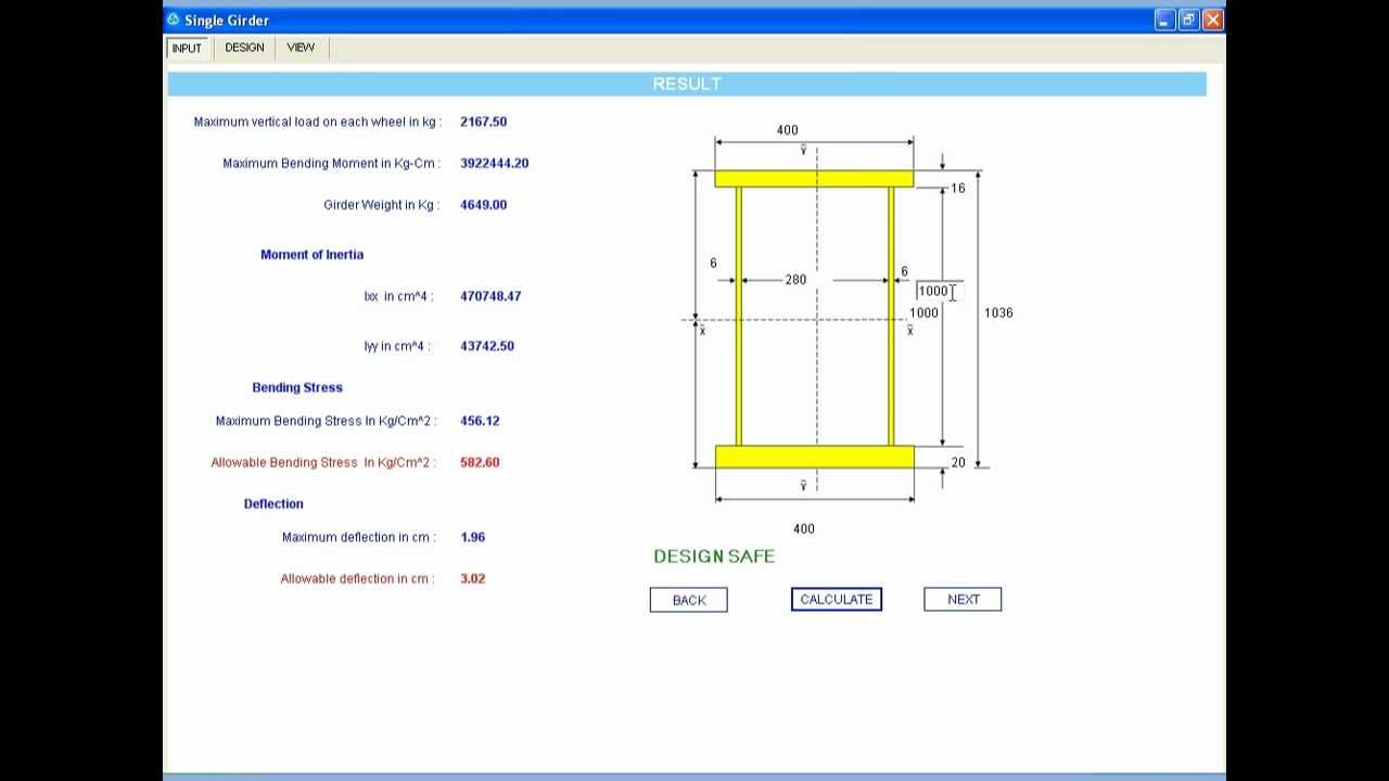 Box Girder Design Software