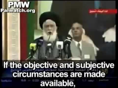 Islam should use nuclear and chemical weapons to rule the world