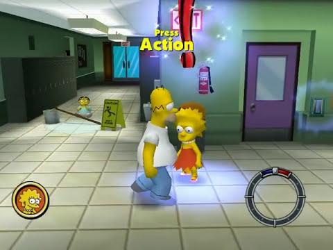 Simpsons Hit & Run ESPAÑOL Level 1 (Homero) Mission 1 y 2 HD