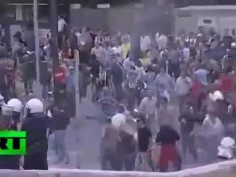 Generalstreik in Griechenland- über 100.000 Menschen auf DEMO