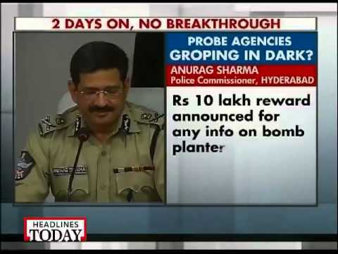 Six specialised teams to probe blasts: Hyderabad police commissioner
