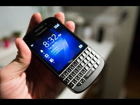BlackBerry Q10   Hands On Review