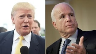 Donald Trump won't apologize to Insane John McCain