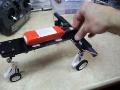 Vigilante R/C Suspension with E-flite Electric Retracts Prototype EFLG110