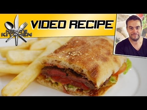 VIDEO RECIPE &#8211; STEAK SANDWICH