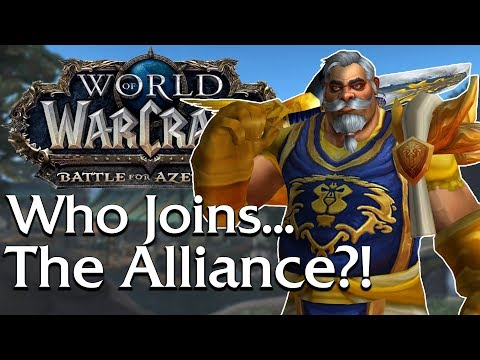 Who Joins the ALLIANCE? Allied Race Opposite Draenor Orcs   World of Warcraft